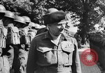 Image of Field Marshal Montgomery Oldenburg Germany, 1945, second 37 stock footage video 65675053403