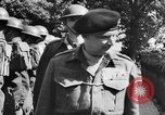 Image of Field Marshal Montgomery Oldenburg Germany, 1945, second 38 stock footage video 65675053403