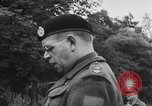 Image of Field Marshal Montgomery Oldenburg Germany, 1945, second 39 stock footage video 65675053403