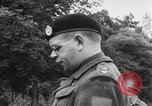 Image of Field Marshal Montgomery Oldenburg Germany, 1945, second 40 stock footage video 65675053403