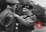 Image of Field Marshal Montgomery Oldenburg Germany, 1945, second 45 stock footage video 65675053403