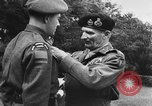 Image of Field Marshal Montgomery Oldenburg Germany, 1945, second 46 stock footage video 65675053403