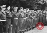 Image of Field Marshal Montgomery Oldenburg Germany, 1945, second 48 stock footage video 65675053403