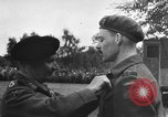 Image of Field Marshal Montgomery Oldenburg Germany, 1945, second 50 stock footage video 65675053403