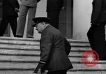 Image of Winston Churchill at Tehran Conference Tehran Iran, 1943, second 41 stock footage video 65675053419