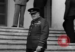 Image of Winston Churchill at Tehran Conference Tehran Iran, 1943, second 42 stock footage video 65675053419