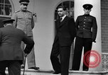 Image of Winston Churchill at Tehran Conference Tehran Iran, 1943, second 48 stock footage video 65675053419
