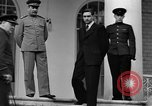 Image of Winston Churchill at Tehran Conference Tehran Iran, 1943, second 49 stock footage video 65675053419