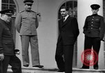 Image of Winston Churchill at Tehran Conference Tehran Iran, 1943, second 50 stock footage video 65675053419