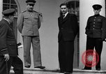 Image of Winston Churchill at Tehran Conference Tehran Iran, 1943, second 51 stock footage video 65675053419