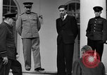 Image of Winston Churchill at Tehran Conference Tehran Iran, 1943, second 53 stock footage video 65675053419