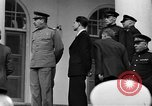 Image of Winston Churchill at Tehran Conference Tehran Iran, 1943, second 58 stock footage video 65675053419