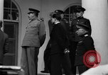 Image of Winston Churchill at Tehran Conference Tehran Iran, 1943, second 59 stock footage video 65675053419
