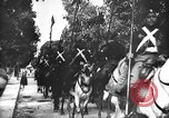 Image of funeral of Ahmad II ibn Ali Tunisia North Africa, 1942, second 19 stock footage video 65675053434