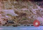Image of Rocky shoreline Okinawa Pacific Theater Kerama Retto, 1945, second 3 stock footage video 65675053456