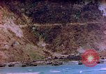 Image of Rocky shoreline Okinawa Pacific Theater Kerama Retto, 1945, second 5 stock footage video 65675053456