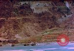 Image of Rocky shoreline Okinawa Pacific Theater Kerama Retto, 1945, second 10 stock footage video 65675053456