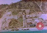 Image of Rocky shoreline Okinawa Pacific Theater Kerama Retto, 1945, second 13 stock footage video 65675053456