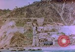Image of Rocky shoreline Okinawa Pacific Theater Kerama Retto, 1945, second 16 stock footage video 65675053456