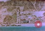 Image of Rocky shoreline Okinawa Pacific Theater Kerama Retto, 1945, second 20 stock footage video 65675053456
