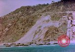 Image of Rocky shoreline Okinawa Pacific Theater Kerama Retto, 1945, second 24 stock footage video 65675053456