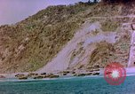 Image of Rocky shoreline Okinawa Pacific Theater Kerama Retto, 1945, second 25 stock footage video 65675053456