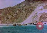 Image of Rocky shoreline Okinawa Pacific Theater Kerama Retto, 1945, second 27 stock footage video 65675053456