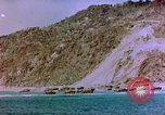 Image of Rocky shoreline Okinawa Pacific Theater Kerama Retto, 1945, second 28 stock footage video 65675053456