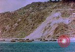 Image of Rocky shoreline Okinawa Pacific Theater Kerama Retto, 1945, second 29 stock footage video 65675053456