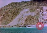 Image of Rocky shoreline Okinawa Pacific Theater Kerama Retto, 1945, second 30 stock footage video 65675053456