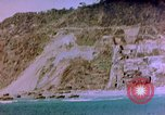 Image of Rocky shoreline Okinawa Pacific Theater Kerama Retto, 1945, second 31 stock footage video 65675053456