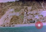 Image of Rocky shoreline Okinawa Pacific Theater Kerama Retto, 1945, second 32 stock footage video 65675053456