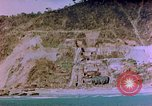Image of Rocky shoreline Okinawa Pacific Theater Kerama Retto, 1945, second 34 stock footage video 65675053456