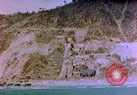 Image of Rocky shoreline Okinawa Pacific Theater Kerama Retto, 1945, second 35 stock footage video 65675053456
