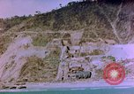 Image of Rocky shoreline Okinawa Pacific Theater Kerama Retto, 1945, second 37 stock footage video 65675053456