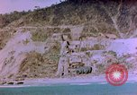 Image of Rocky shoreline Okinawa Pacific Theater Kerama Retto, 1945, second 39 stock footage video 65675053456