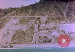 Image of Rocky shoreline Okinawa Pacific Theater Kerama Retto, 1945, second 40 stock footage video 65675053456
