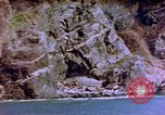 Image of Rocky shoreline Okinawa Pacific Theater Kerama Retto, 1945, second 45 stock footage video 65675053456