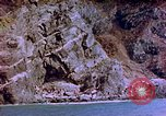 Image of Rocky shoreline Okinawa Pacific Theater Kerama Retto, 1945, second 46 stock footage video 65675053456