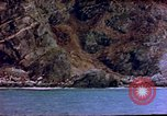 Image of Rocky shoreline Okinawa Pacific Theater Kerama Retto, 1945, second 52 stock footage video 65675053456