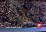 Image of Rocky shoreline Okinawa Pacific Theater Kerama Retto, 1945, second 53 stock footage video 65675053456