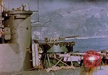 Image of Rocket launcher Okinawa Pacific Theater Kerama Retto, 1945, second 9 stock footage video 65675053458