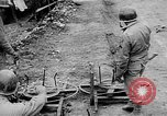 Image of German artillery fire strikes near American troops Volturno River Valley Italy, 1944, second 17 stock footage video 65675053484