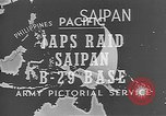 Image of Japanese planes Saipan Northern Mariana Islands, 1944, second 33 stock footage video 65675053486