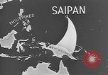 Image of Japanese planes Saipan Northern Mariana Islands, 1944, second 34 stock footage video 65675053486