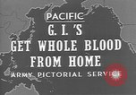 Image of wounded soldiers Pacific Theater, 1944, second 4 stock footage video 65675053487