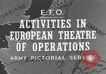 Image of United States Army European Theater, 1944, second 5 stock footage video 65675053492