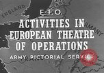 Image of United States Army European Theater, 1944, second 6 stock footage video 65675053492