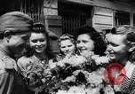 Image of Russian troops Lublin Poland, 1945, second 38 stock footage video 65675053499