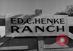 Image of texas ranch lifestyle mid 1940s Kerrville Texas USA, 1945, second 4 stock footage video 65675053501